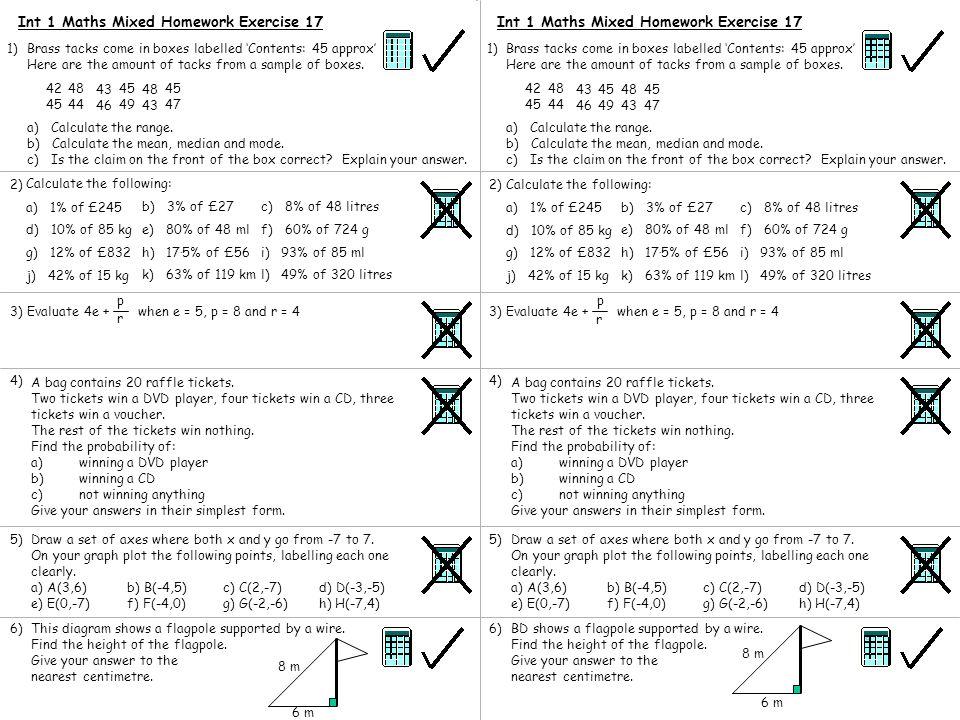 Homework 1 – Foundation Revision - ppt download
