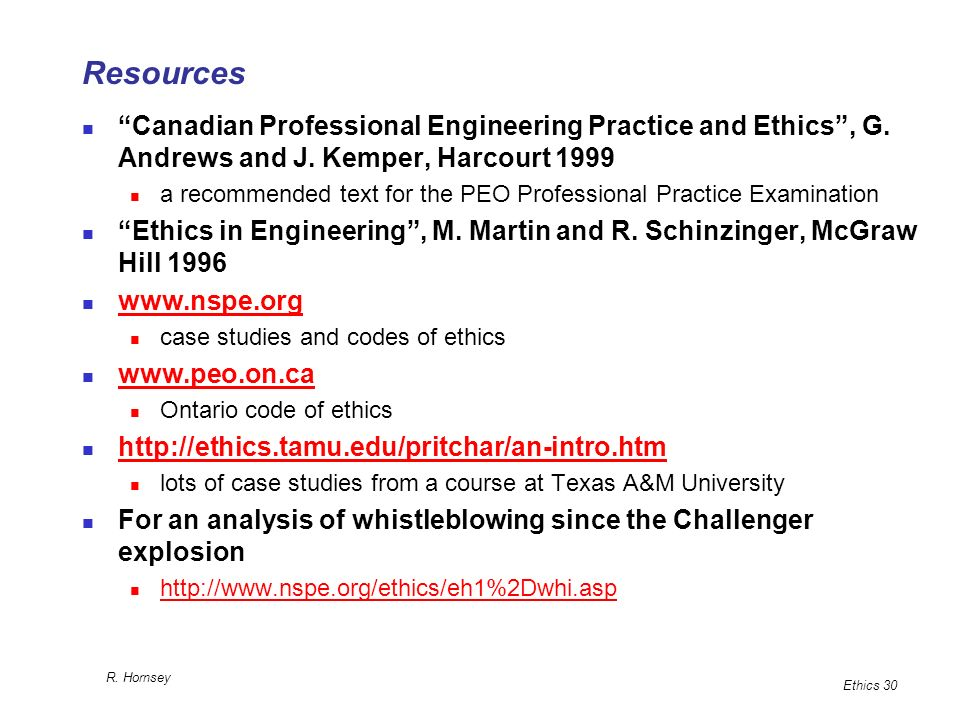 Engineering 1000 Chapter 8: Ethics - ppt download