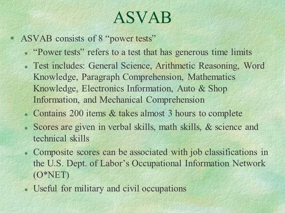 ASVAB Practice Test for General Science (10 ... - YouTube