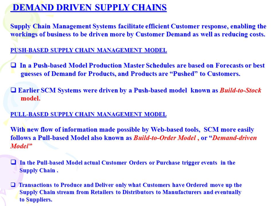 supply chain and demand model eco372 Eco 372 week 4 team reflection supply chain and demand model this tutorial was purchased 4 times & rated a by student like you discuss the relationship between supply chain and the supply and demand model.