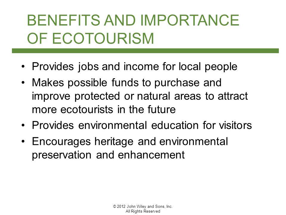 advantages of ecotourism