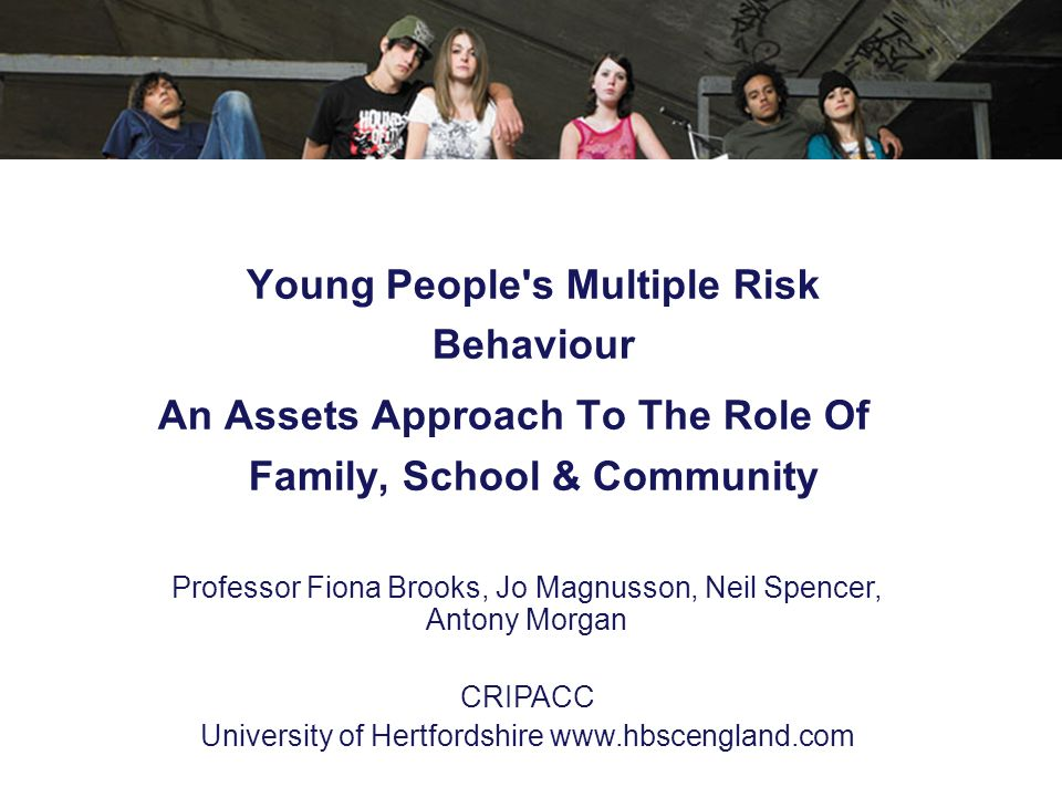 An Assets Approach To The Role Of Family, School & Community