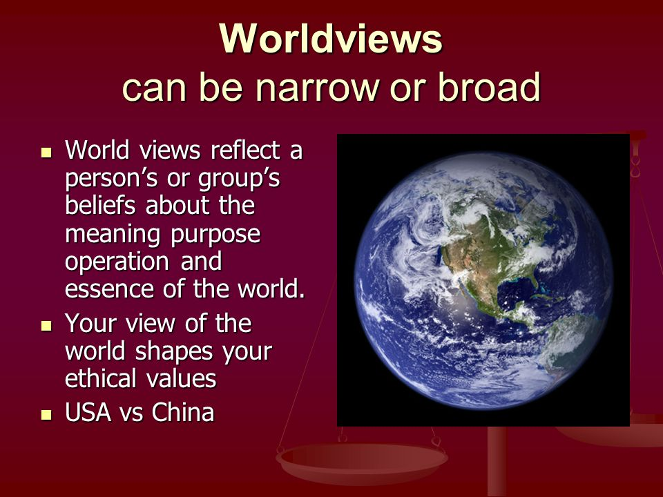belief and worldview project