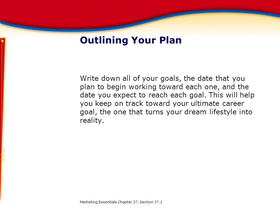 Outlining Your Plan