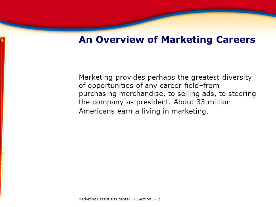 An Overview of Marketing Careers