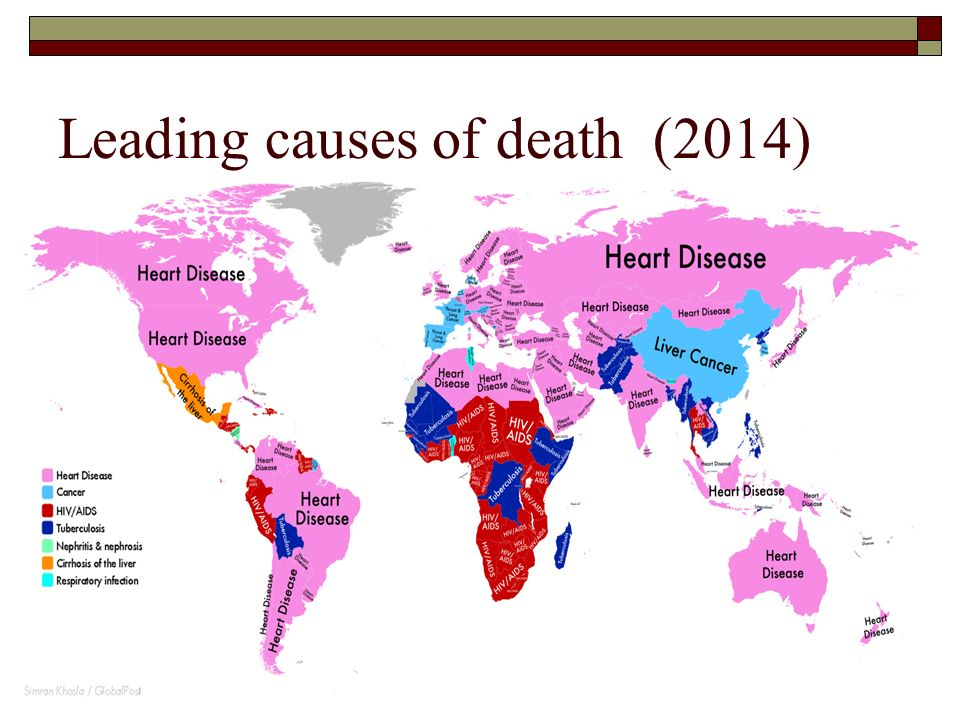 Leading causes of death (2014)