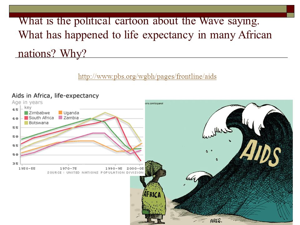 What is the political cartoon about the Wave saying
