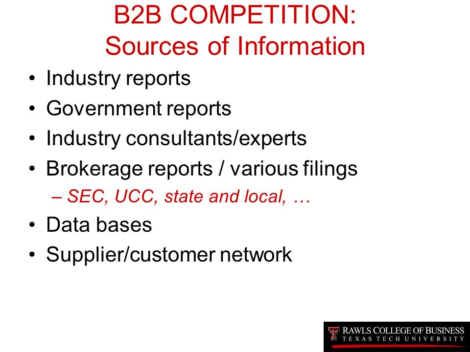 sources of competitive information Nesses have decided they need more information about the plans, products, and strategies of their competitors this need has always existed why only now do.