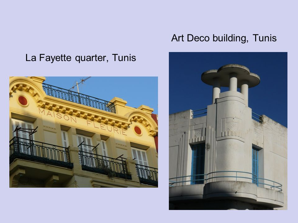 Art Deco building, Tunis