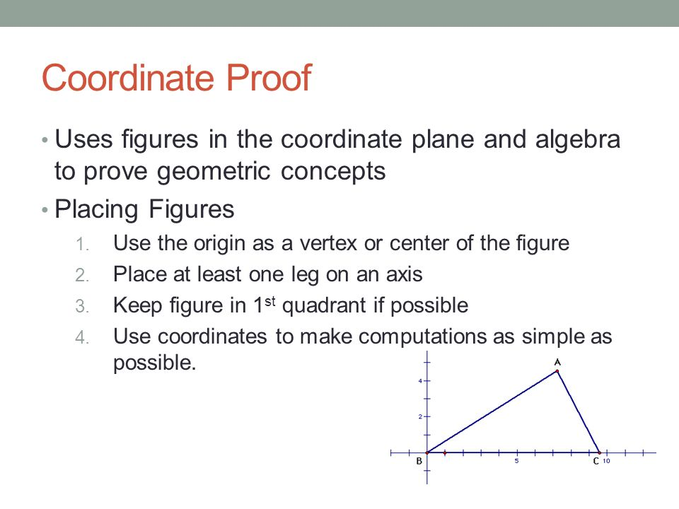 coordinate proof unit 2 reasoning proof ppt download. Black Bedroom Furniture Sets. Home Design Ideas