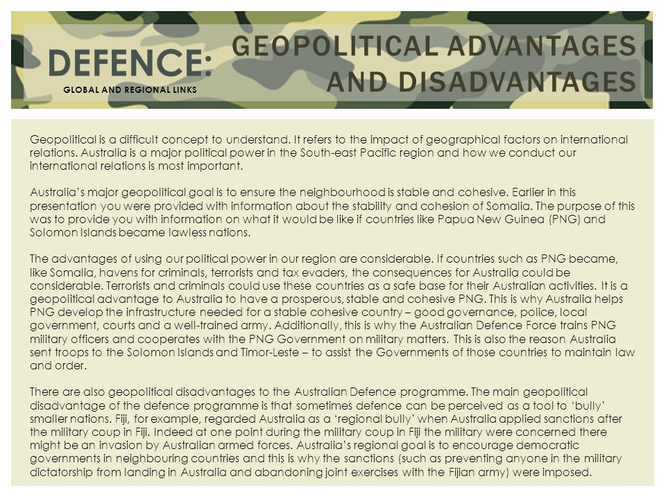 australias regional global links defence Regional architecture  continued support for the global green growth institute  related links media release—the new aid paradigm.
