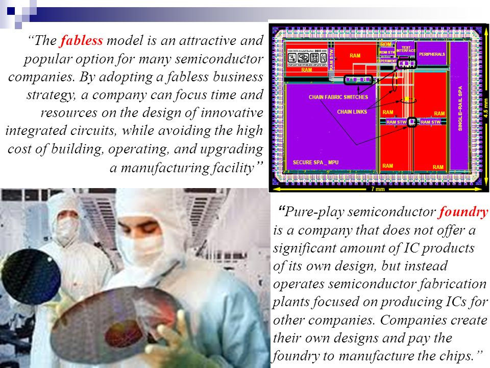 The fabless model is an attractive and popular option for many semiconductor companies. By adopting a fabless business