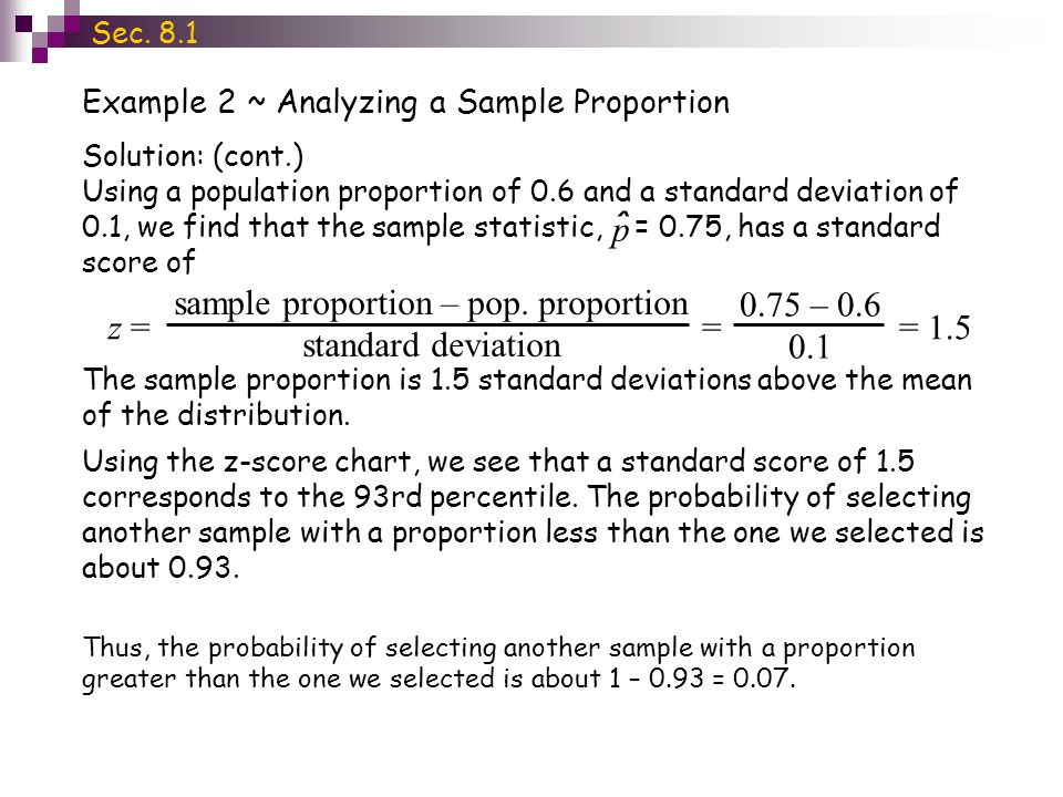 Section 8.1 ~ Sampling Distributions - ppt download