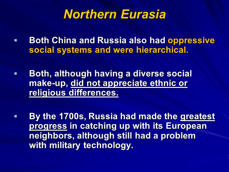 Northern Eurasia AD ppt download