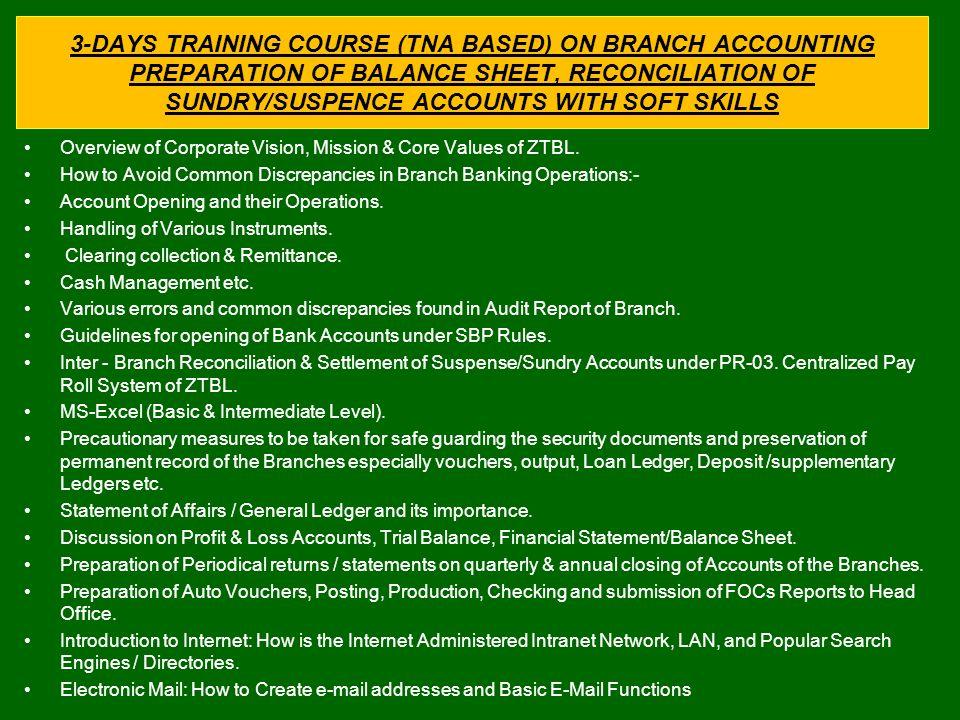 preparation of balance sheet pdf