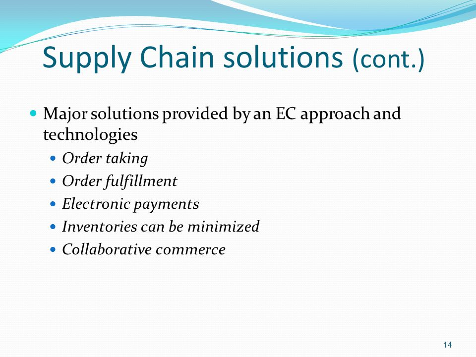 chapter 8 e supply chain collaborative commerce Overview the most valuable investment in time and effort is in the early planning and development of a supply chain collaboration partnership learn more about chapter 7: how to implement supply chain collaboration on globalspec.