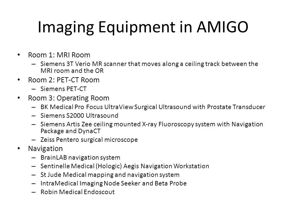 Imaging Equipment in AMIGO