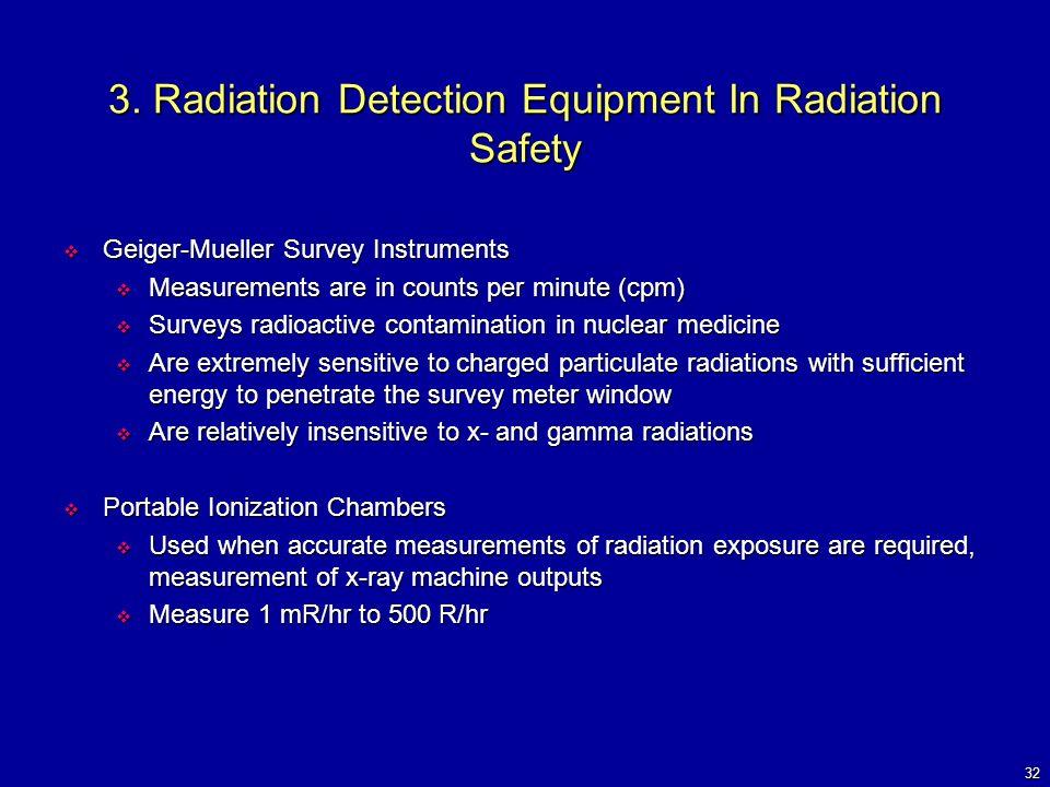 Radiation Measurement Instruments : Radiation protection bushberg chapter robert l