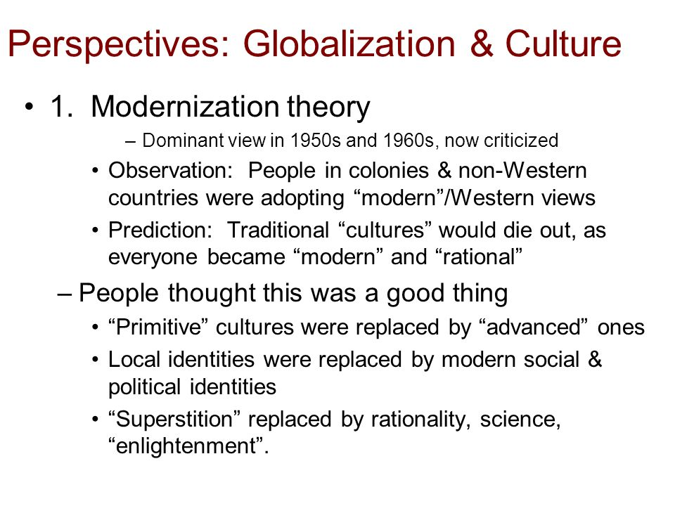 globalization and non western countries Diversity, globalization, and non-western area studies courses globalization, non-western area studies country or region and other outside countries or.
