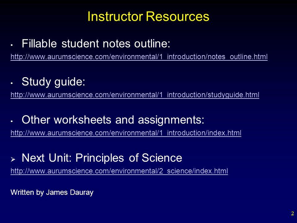 Ap Environmental Science Study Guide - Cram.com