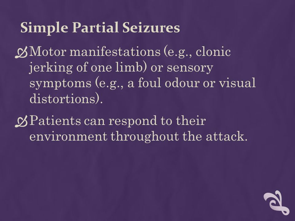 Seizure Disorders Ppt Download