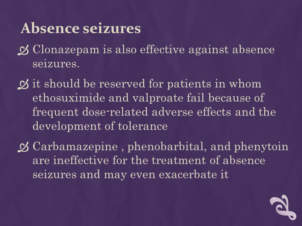 clonazepam dosage for seizures