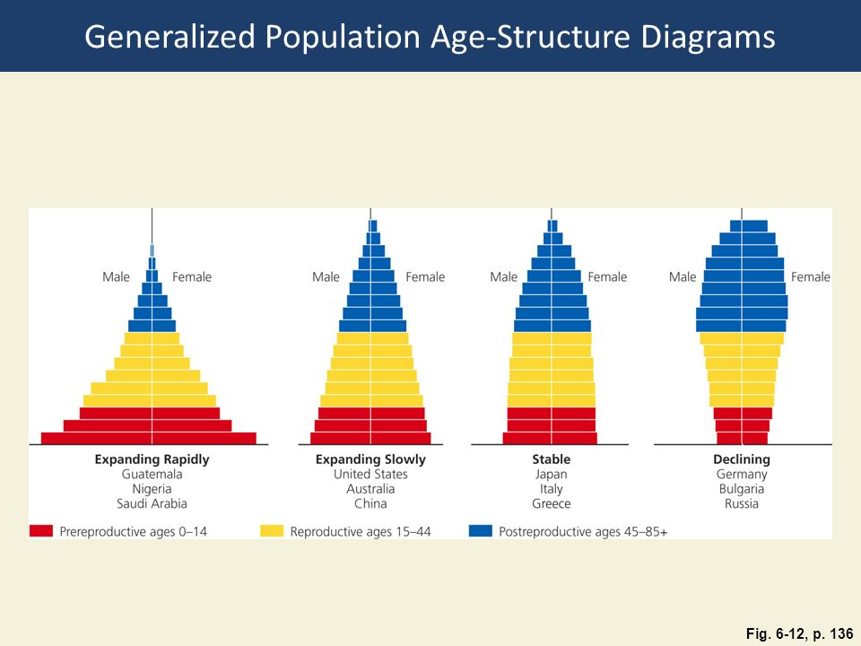 Generalized Population Age-Structure Diagrams