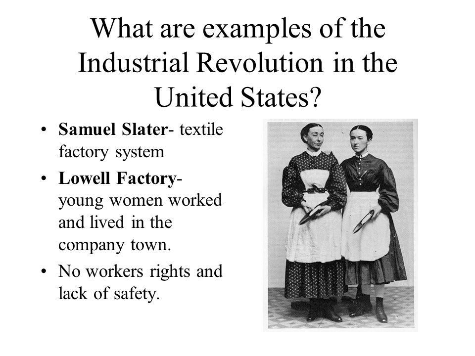 The development of factory system in the united states