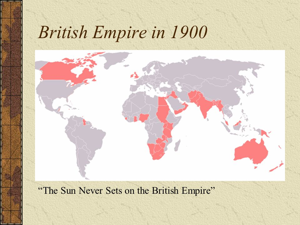 Global responses to the rise of the west ppt download 4 british empire gumiabroncs Choice Image