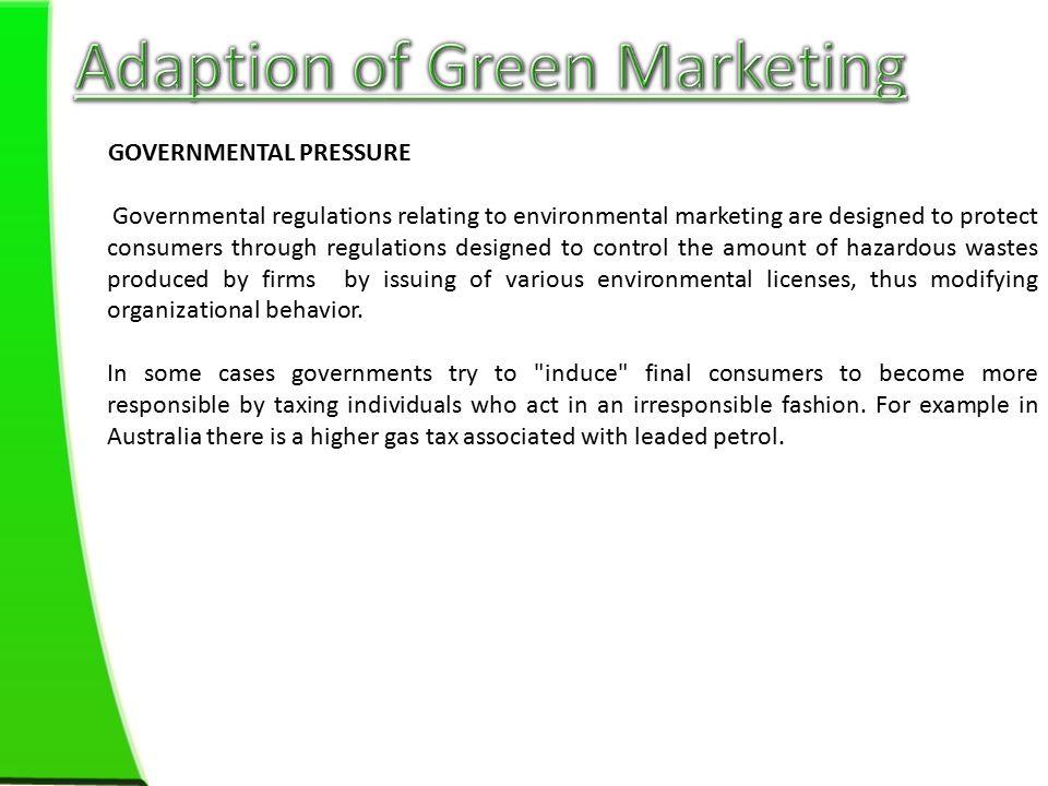 green marketing consumer behaviour Influence of green marketing on consumer behavior: a realistic study on bangladesh a s m saifur rahman α, adita barua σ, rajidul hoque ρ & md rifat zahir.