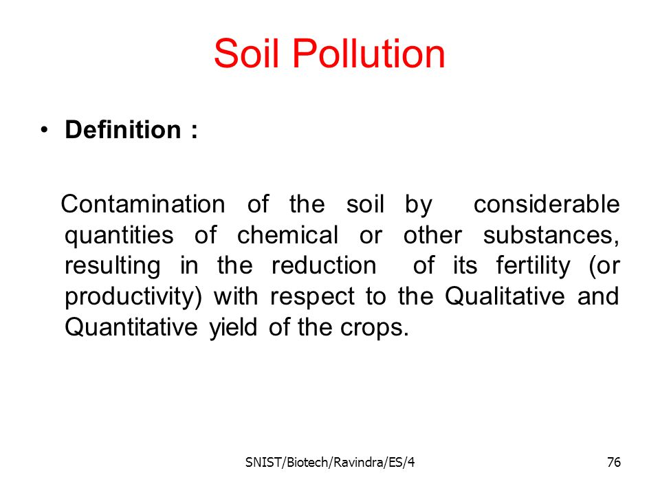 environmental pollution ppt download