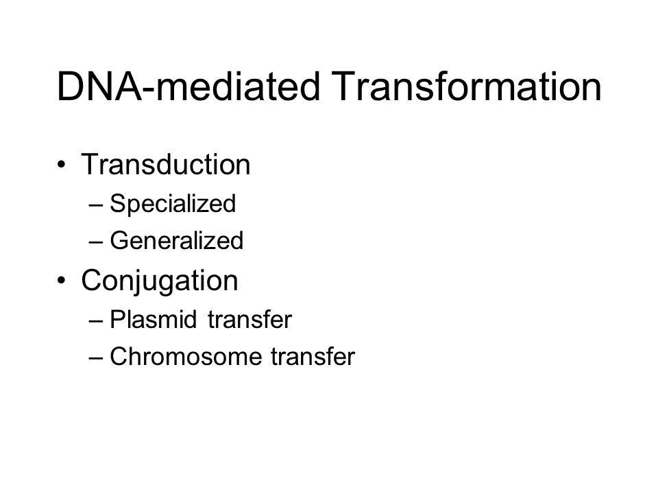 conjugation transduction and transformation pdf
