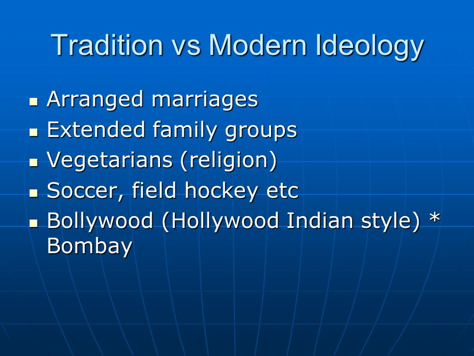 essay on tradition vs modernity in india 1456 words essay on tradition vs modernity modernity in india has not replaced tradition largely or decisively essay on the position of women in indian cinema.