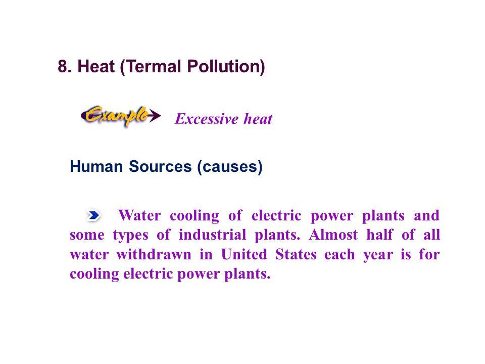 8. Heat (Termal Pollution)