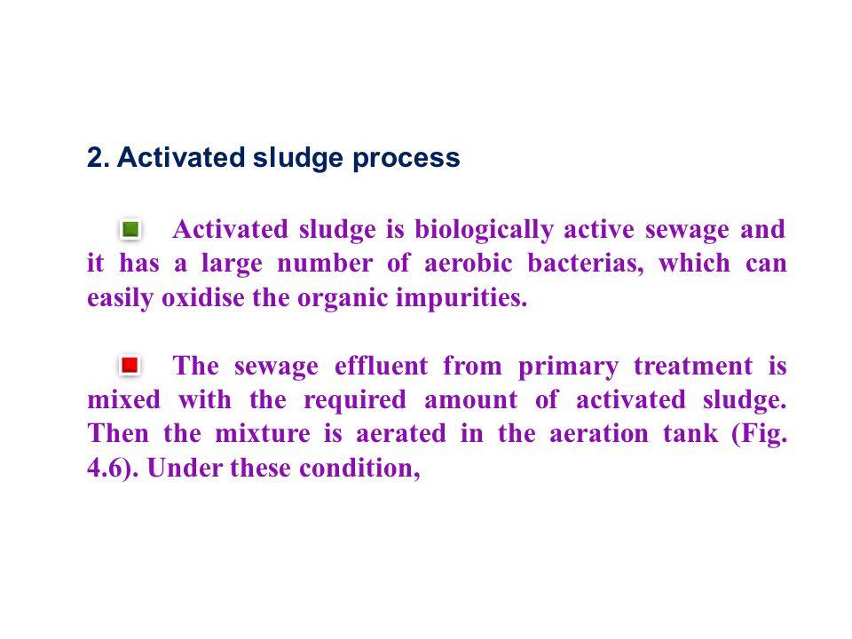 2. Activated sludge process