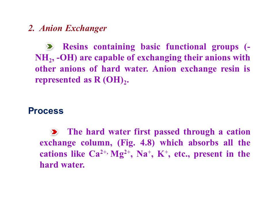 2. Anion Exchanger