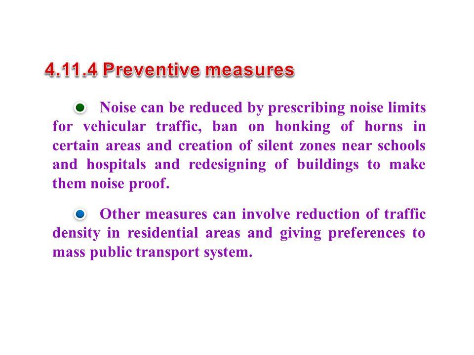 4.11.4 Preventive measures