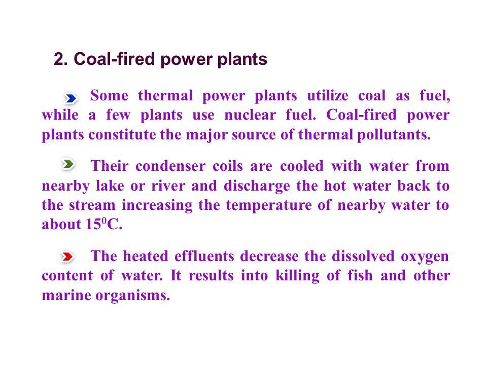2. Coal-fired power plants