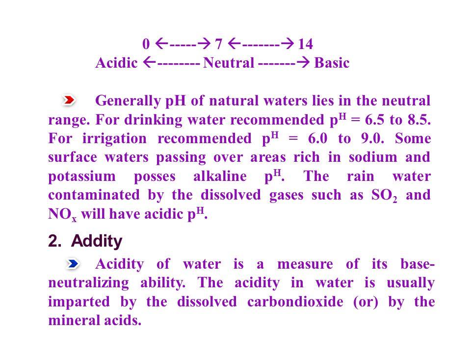 2. Addity 0 ----- 7 ------- 14