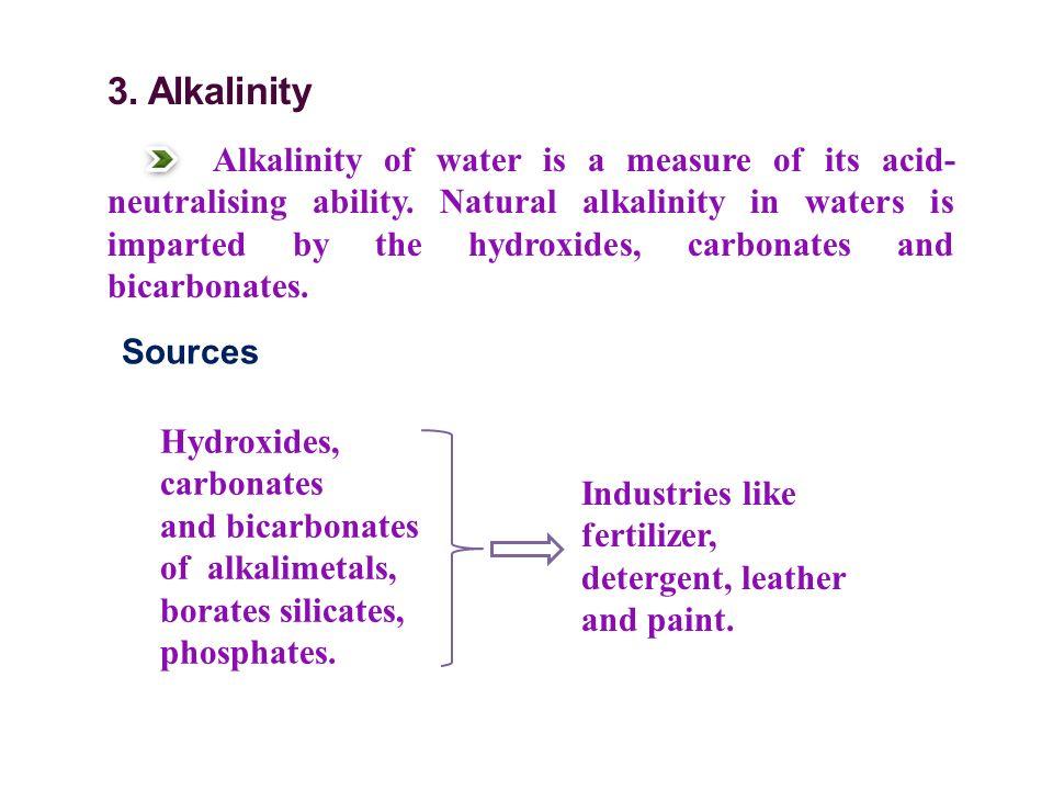 3. Alkalinity