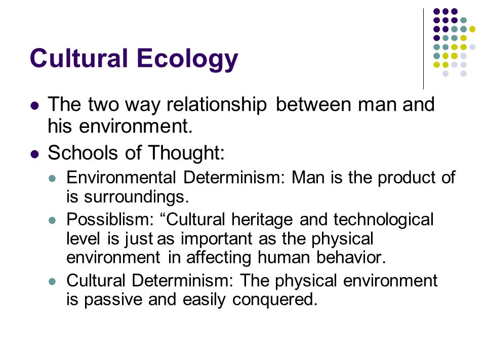 man and his environment relationship