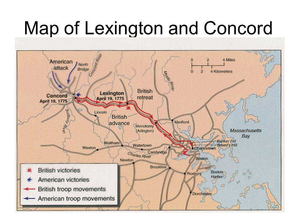notes on the american revolution ppt video online  4 map