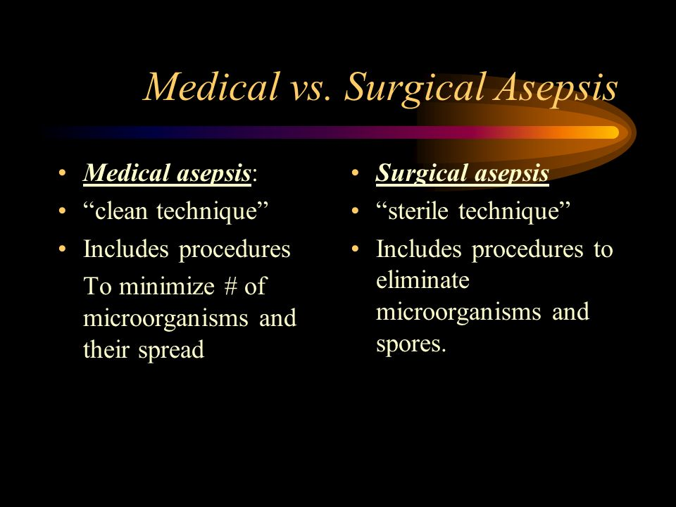 Surgical Asepsis Amp Wound Care Ppt Video Online Download