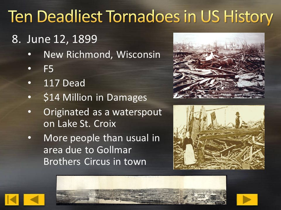 Tornadoes (Twisters, Funnel Clouds, Cyclones) in the ...