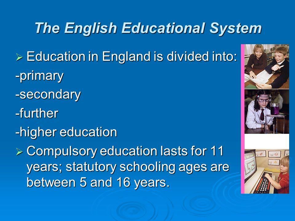 england school system