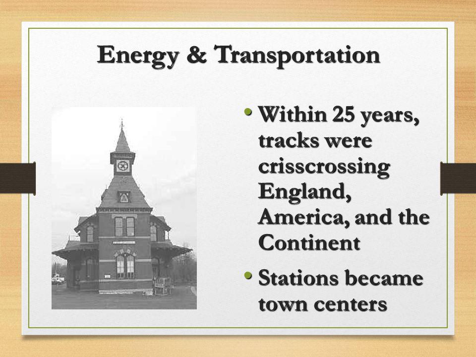 Energy & Transportation