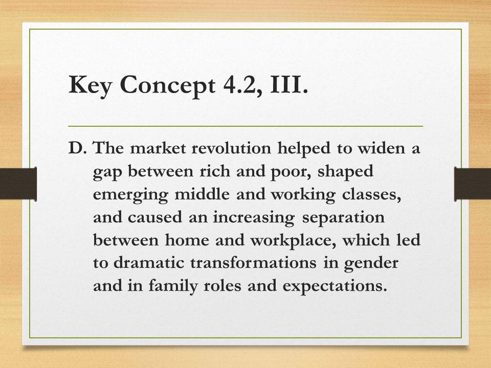 Key Concept 4.2, III.