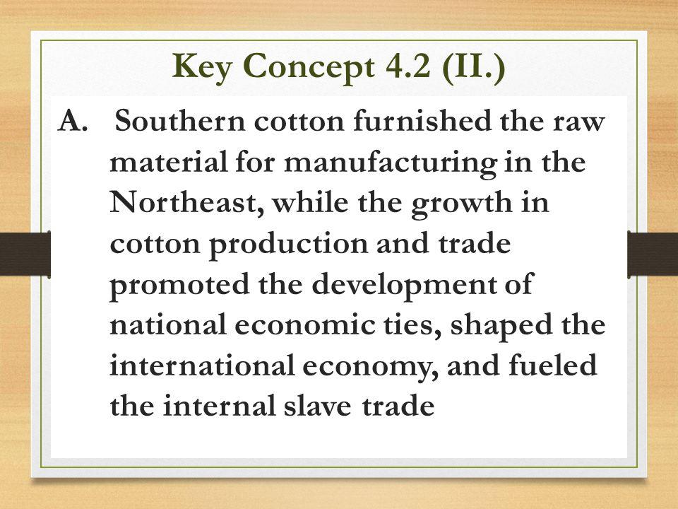 Key Concept 4.2 (II.)