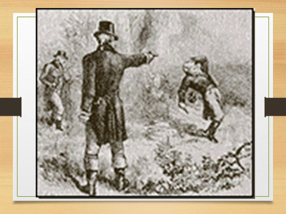 Andrew Jackson participated in many duels
