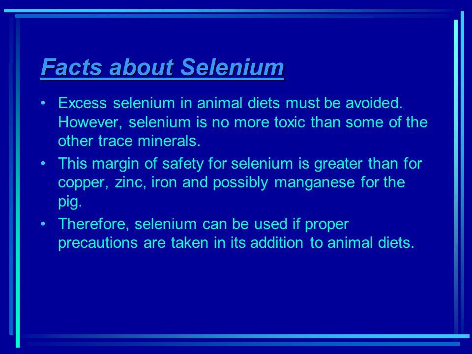 Selenium and zinc on spermatogenesis